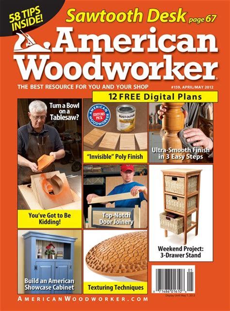 Woodworking 225 March April American