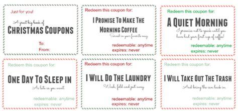 FREE Printable Christmas Coupon Book   10% Off K Cup Coupon Code   SheSaved®
