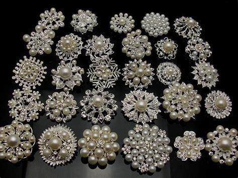 bulk faux pearl 10p silverx mixed bulk silver plated wedding bridal