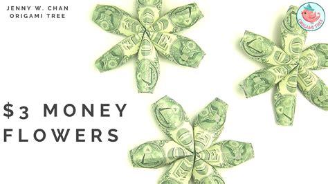 how to make money origami flower 3 money flowers dollar origami 187 origamitree