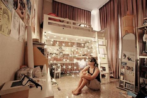 bedroom light decorations 20 creative and efficient college bedroom ideas house