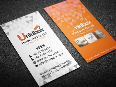 make name cards business card label design unidbox in design
