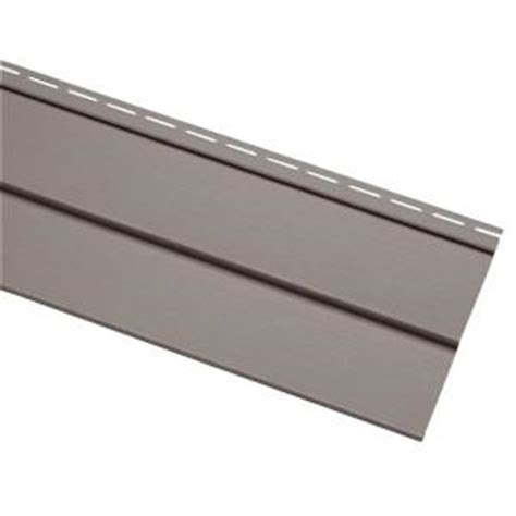 home depot paint vinyl siding cellwood progressions 4 in nantucket gray vinyl