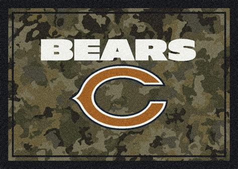 chicago bears area rug milliken area rugs nfl camo rugs 03016 chicago bears
