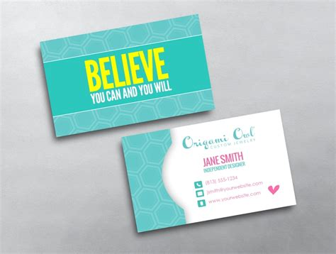 origami owl business cards origami owl business card 17