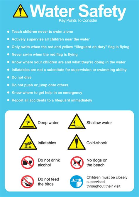 are water safe great water safety drowning prevention post as the twig