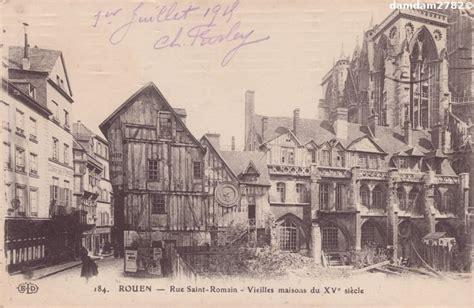 rouen rue rouen cartes postales anciennes sur cparama