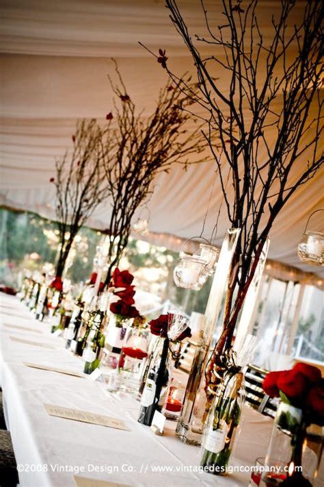 wedding centerpiece branches wedding accessories ideas