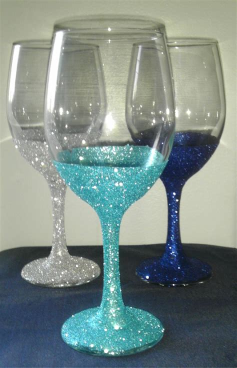 wine glass craft projects got bling easy d i y bridesmaid gift engage