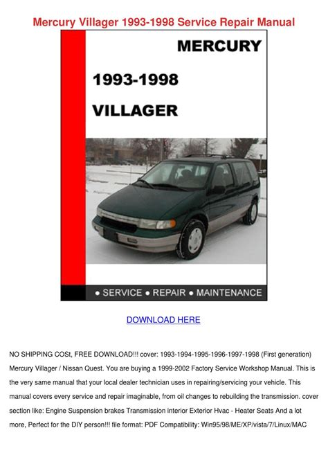 what is the best auto repair manual 2000 ford ranger free book repair manuals service manual 1998 mercury villager repair manual pdf repair manual 2000 mercury villager