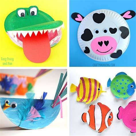 paper plate animal crafts 40 animal paper plate crafts for the