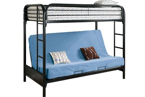 bunk bed frame with futon safe metal futon bunked outback black futon bunk bed