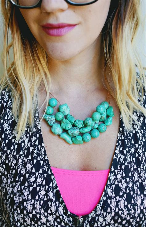 how to make a simple beaded necklace how to make a simple beaded necklace a beautiful mess