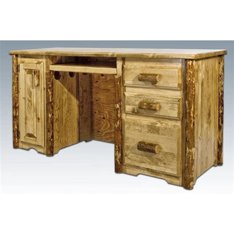 mt woodworks montana woodworks 174 glacier country computer desk 178341