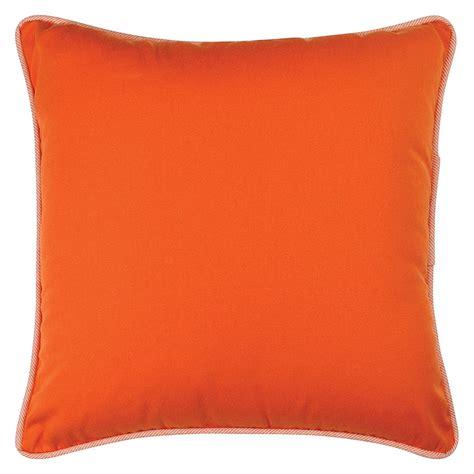 orange cusions orange outdoor cushion 45x45cm hupper