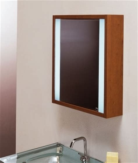 wooden bathroom mirror wooden illuminated bathroom mirror cabinet