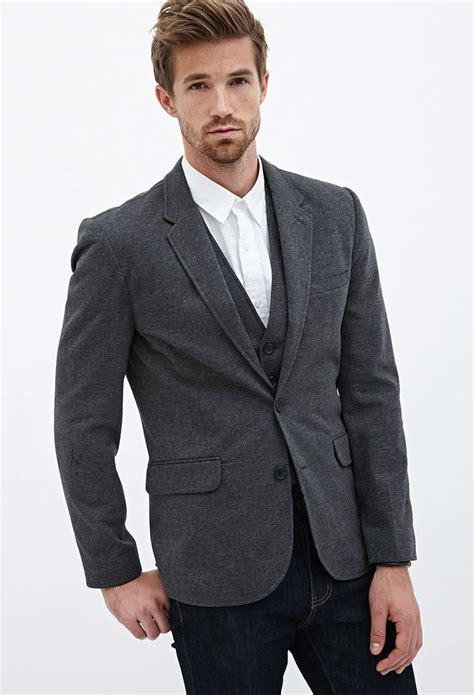 knit blazer mens two button knit blazer forever21 21men fayettefashion