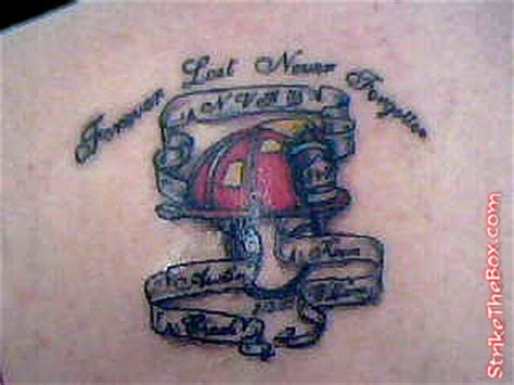firefighter memorial tattoo