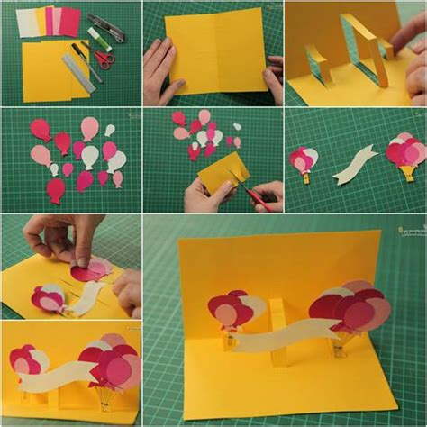 how to make a 3d card how to make creative 3d birthday card diy tutorial