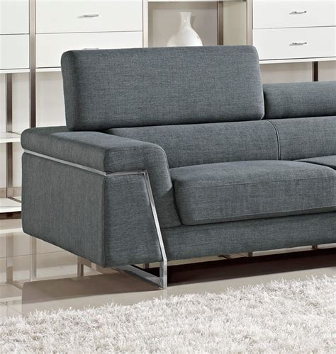 sectional sofas modern darby modern fabric sectional sofa set