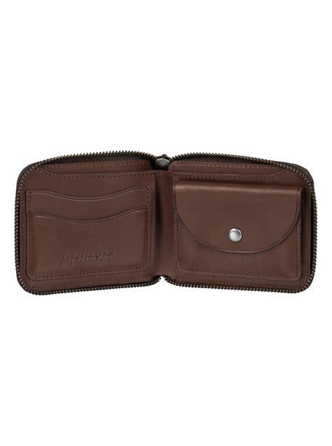 leather with zips zip leather wallet eqyaa03365 quiksilver