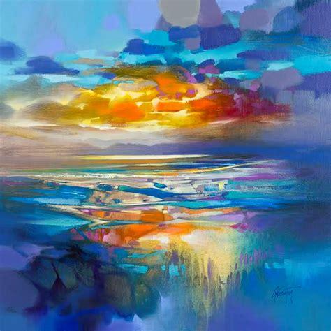 whole painting naismith artist liquid cyan blue painting