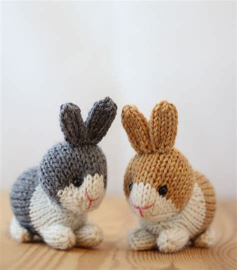 free knitting patterns for rabbits 888 best images about teenie tiny knitting projects on