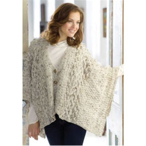 free wrap knitting patterns free aran wrap knit pattern