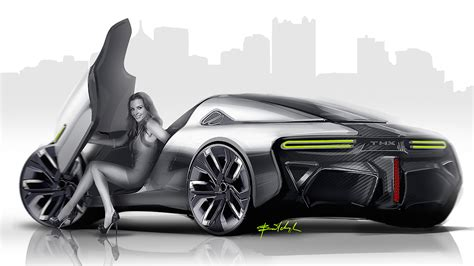 Sports Car Concept by Thx Sports Car Concept Looks Intriguing Drivers Magazine