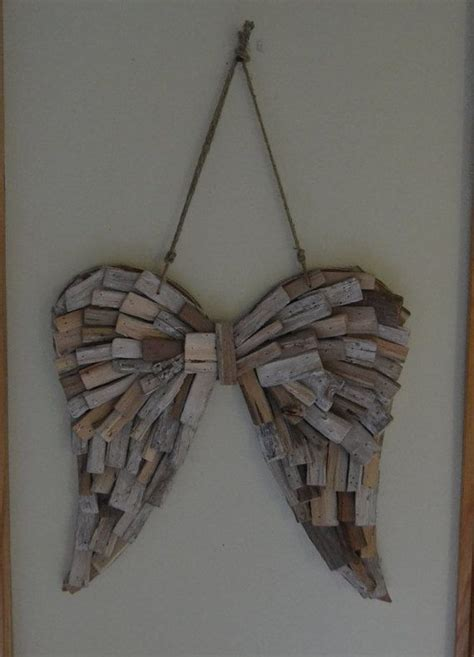 wings home decor driftwood wings wedding home decor wings