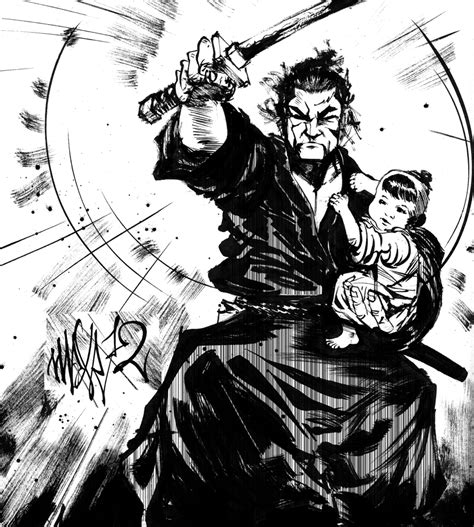 lone wolf and cub lone wolf and cub by maxromanchak on deviantart