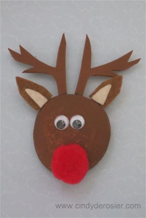 reindeer craft projects reindeer pet rock family crafts