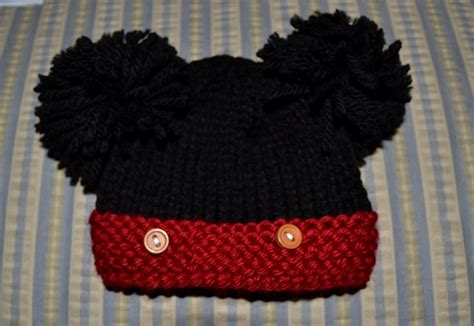 mickey mouse knit hat knitting pattern for mickey mouse hat studio design