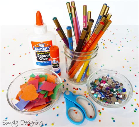 and crafts supplies activities for at a