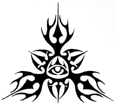 eye designs 10 tribal eye tattoos only tribal