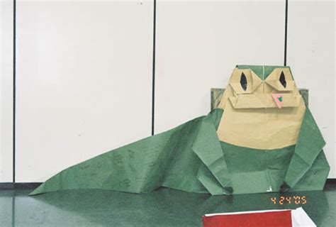 origami jabba the hutt celebration iii