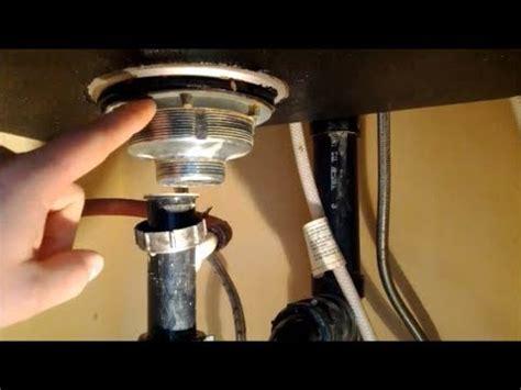 kitchen sink drain installation how to replace a kitchen sink strainer