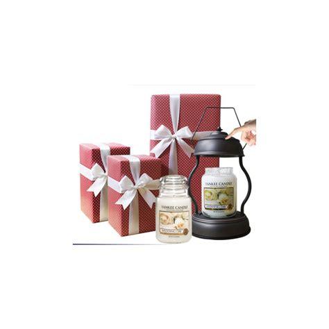 Large Candle Set by Yankee Candle 2 Large Jar Candle Warmer Gift Set