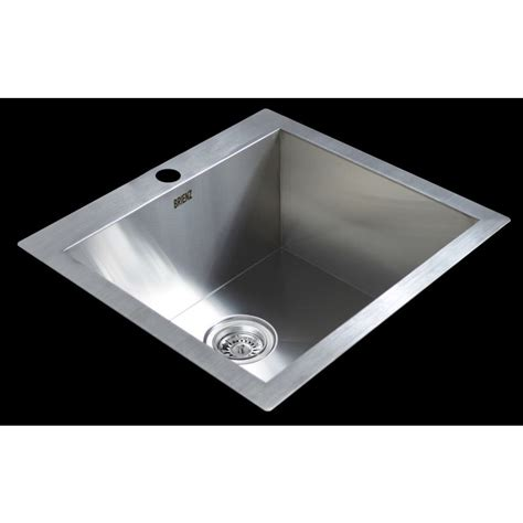 top mounted kitchen sinks stainless steel top mount kitchen sink 530x505mm buy