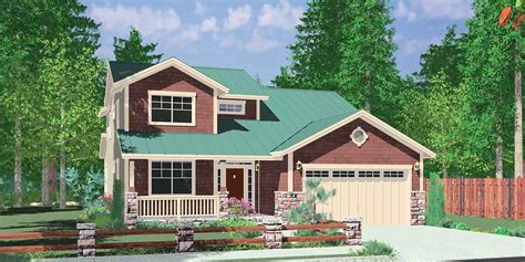 home plans with master on floor 40 ft wide narrow lot house plan w master on the floor