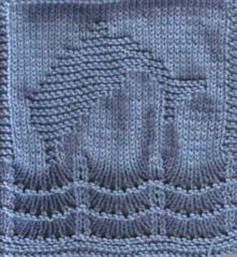 free dolphin knitting pattern dolphins cloths and dishcloth on