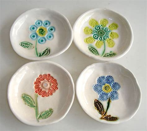 ceramic crafts for pinch pot teal bowl small bowls with spoons pottery