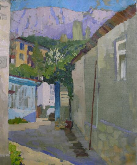 picasso painting yard sale crimean landscape painting on canvas