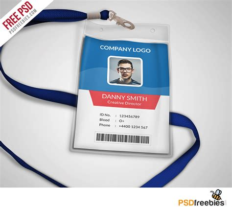 how to make company id cards multipurpose company id card free psd template