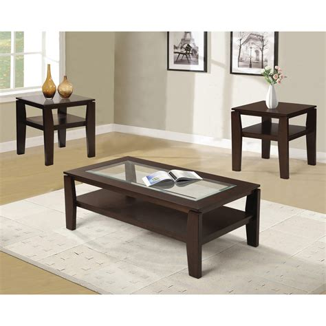 coffee table set furniture wooden coffee table set with glass also pattern
