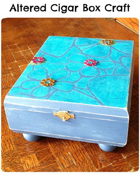 cigar box craft projects altered cigar box craft pet scribbles