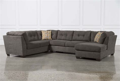 3 sectional sofa delta city steel 3 sectional w raf chaise living