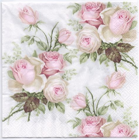 decoupage using paper napkins decoupage napkins of pastel bouquet