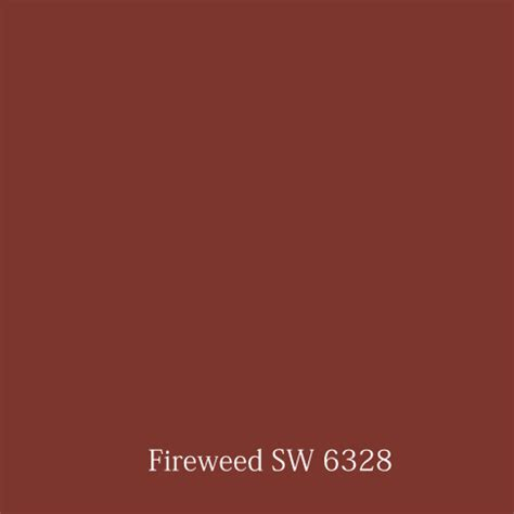 Fireweed Sherwin Williams color marie 75 years of golden gate color