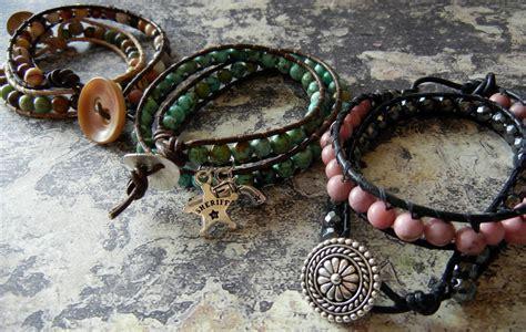 wrap bead bracelet tutorial make a beaded cuff bracelet 171 bracelets jewelry